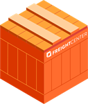 freight shipping crate