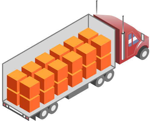 freight shipping truck