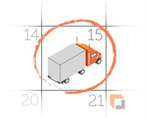 guaranteed delivery freight shipping service