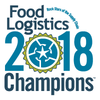 Food Logistics awards FreightCenter with 2017 Champions: Rock Stars of the Supply Chain