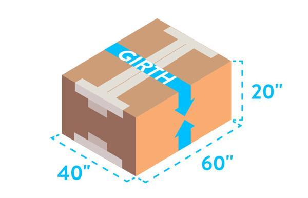 Parcel Shipping Dimensions